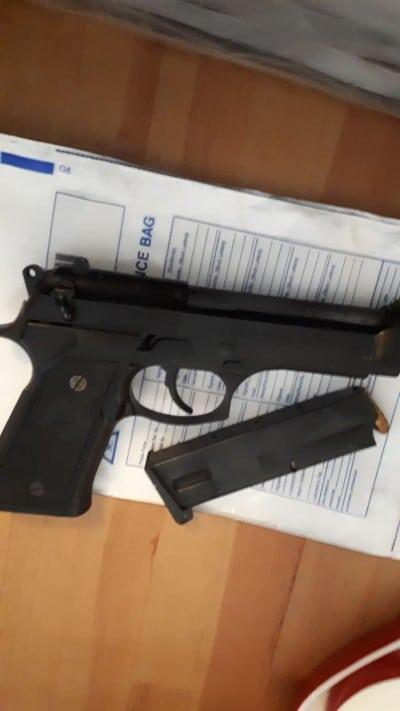 Gevonden vuurwapen bij actie