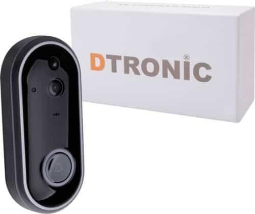 DTRONIC draadloze WiFi deurbel met camera - M6 incl. app