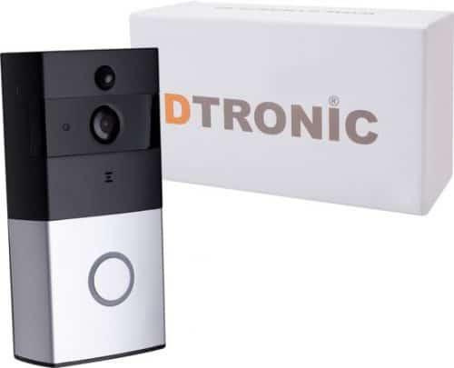 DTRONIC draadloze deurbel met HD camera -M1