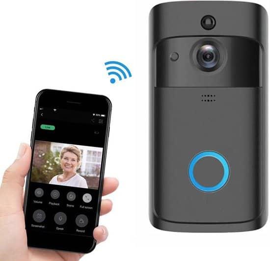 GlobalTheLable - Premium Video Deurbel - Inclusief Chime (deurbelgong)