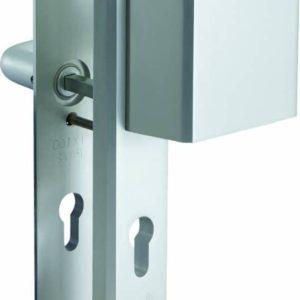 Nemef 3419/55 Veiligheidsbeslag - Met kerntrekbeveiliging - SKG*** - Langschild - Greep/Kruk - 55mm
