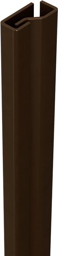 Secu products Secustrip Plus Voordeur 205cm Bidr 1* - Kleur: Bruin