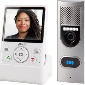 Alecto ADI-250 Draadloze digitale deurbel - Veilig op afstand zien wie er voor de deur staat