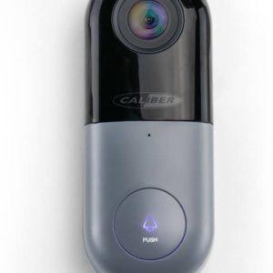 Caliber HWC502 - Slimme deurbel met 1080hd camera - Zwart grijs