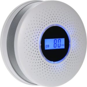 Combimelder Rook en Koolmonoxide – Rookmelder & Koolmonoxidemelder – 80DB Sirene –  GRATIS AA Ultimate Batterijen - Veilig