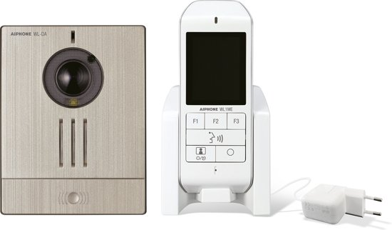 Draadloze deurbel met camera via DECT technologie - batterijen inbegrepen