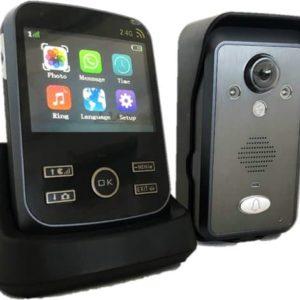 Intercom draadloos Deurintercom - 3.5'' kleurenmonitor en foto/video camera