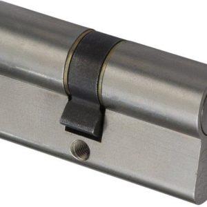 Nemef veiligheidscilinder 132/9 - Gelijksluitend - Met boorbelemmering - Anti Slagpick - Kerntrekbeveiliging - SKG*** - Met gevarenfunctie - Met 8 sleutels - 4 cilinders in verpakking