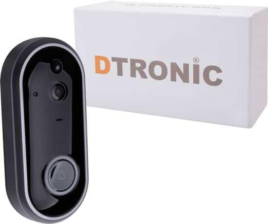 DTRONIC M6 - draadloze WiFi deurbel met camera - incl. app