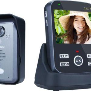 Draadloze camera deurbel met intercom