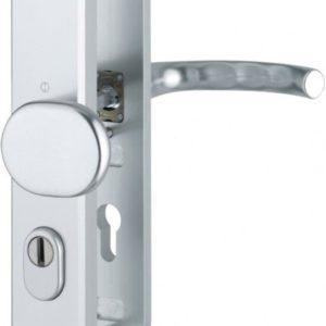 Hoppe Tokyo veiligheidsbeslag rond greep/kruk SKG*** F1 PC55  86G/3236ZA/3214/1710 deurdikte 35-45 met kerntrekbeveiliging