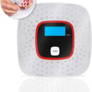 Koolmonoxide Melder – 7 Jaar Sensor – Met Display en Testknop – CO Melder - Voldoet aan Europese Norm EN50291