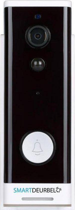 Deurbel Met Camera Draadloos| WiFi deurbel Incl. Binnenbel en Accu| Past Op Elke Deurwand | 1080P Full HD | Zonder Abonnement